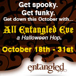 Entangled Halloweem Hop Badge